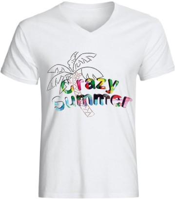 Heren T-Shirt Toppers Crazy Summer Palmtree