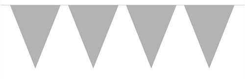 Mini Vlaggenlijn Zilver 3mtr.