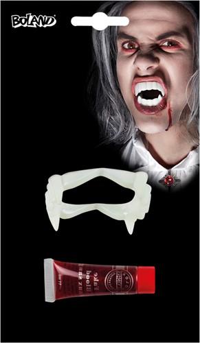 Vampier Tanden + Bloed (11ml)