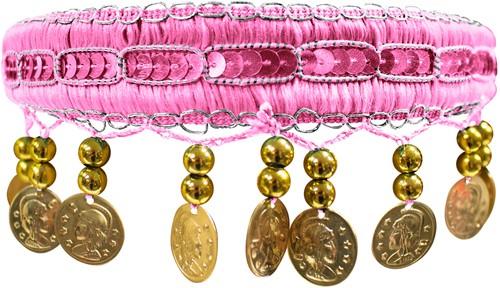 Haarband Zigeuner Luxe Roze