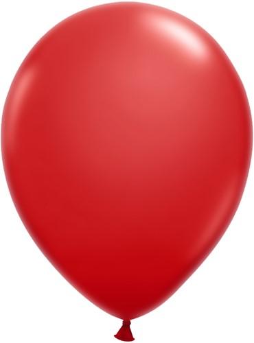 Ballonnen Klein 5inch 100 stuks Rood