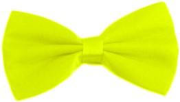 Strikje Satijn Luxe Neon Geel