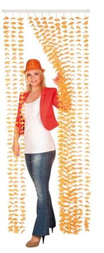 Deurgordijn Oranje 205X85CM