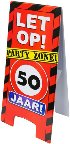 Warning Sign 50 Jaar