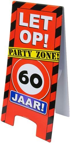 Warning Sign 60 Jaar!