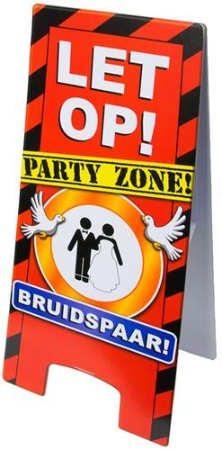 Warning Sign Bruidspaar!