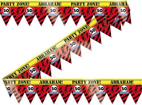 Markeerlint Party 50 Jaar Abraham
