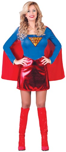 Dameskostuum Superwoman