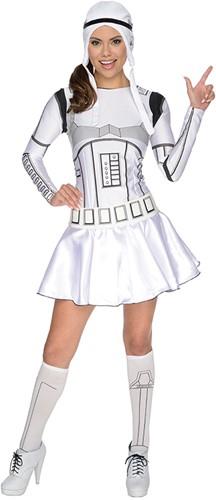 Dameskostuum Stormtrooper (Star Wars)