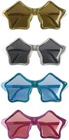 Bril Disco Stars Zilver (meer kleuren)