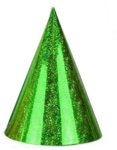Feesthoed Laser Groen