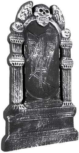 Grafsteen Skull RIP 50X30cm
