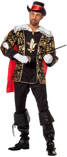 Herenkostuum Musketier Porthos