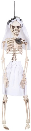 Decoratie Skelet Bruid
