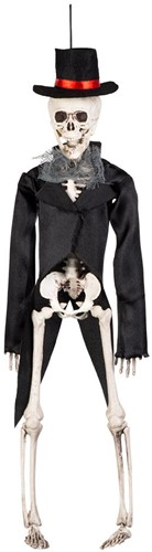 Decoratie Skelet Bruidegom
