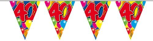 Vlaggenlijn 40 jaar 10mtr