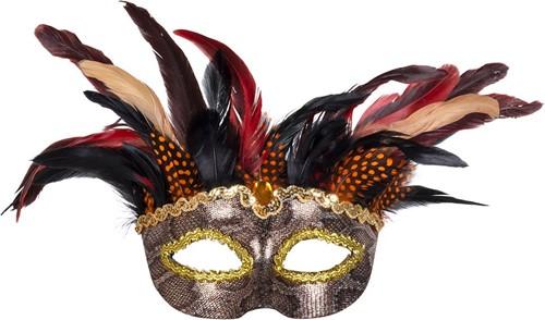 Oogmasker Voodoo Marasa Luxe