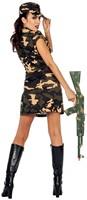 Legerjurkje Army Lady Luxe -3