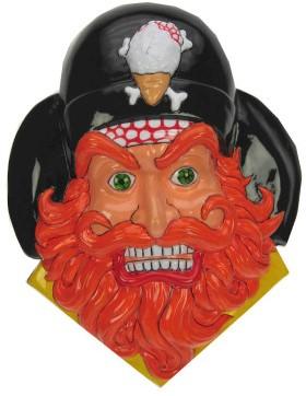 Deco Piraat Oranje baard