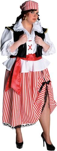 Piratenkostuum Dame Halflang-2