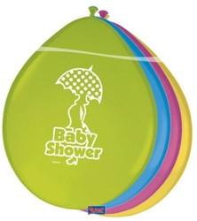 Ballonnen Babyshower 8st.