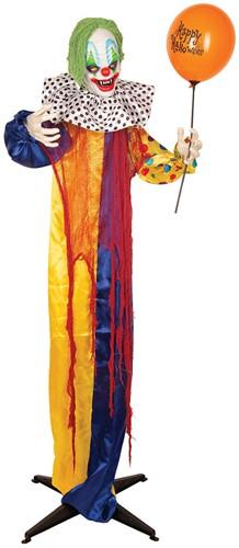 Halloween Decoratie Clown Ballon met Bewegingssensor (165cm)