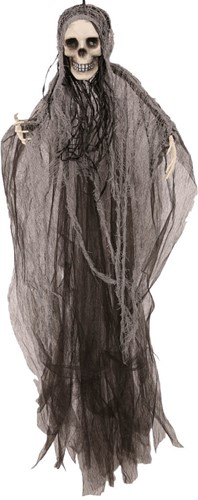 Hangdecoratie Scary Skull (80cm)