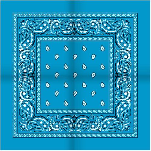 Zakdoek Turquoise (54x54cm)