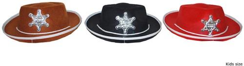 Hoed Cowboy Klein Zwart