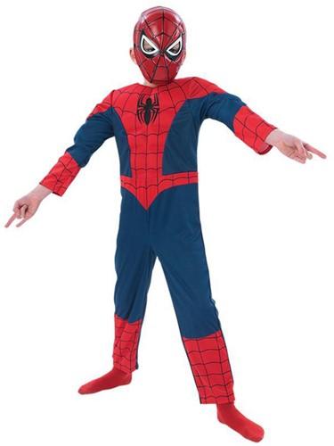 Kinderkostuum Ultimate Spiderman Deluxe Muscle