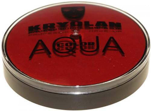 Aquacolor Kryolan 20 ml Donkerrood 081