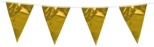 Mini Vlaggenlijn Goud 3mtr.