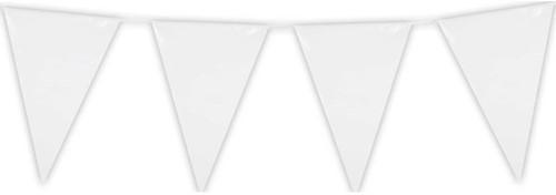 Mini Vlaggenlijn Wit 3mtr.
