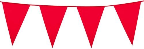 Vlaggenlijn Groot Rood (10m)