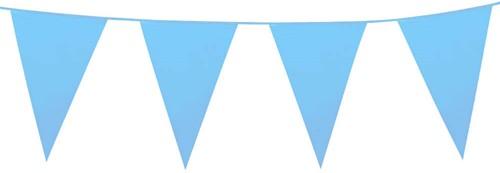 Vlaggenlijn Groot Lichtblauw (10m)