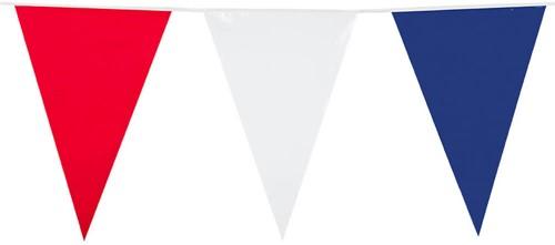 Vlaggenlijn Rood/Wit/Blauw 10mtr