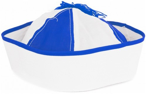 Navy Cap Blauw/Wit (Peppi & Kokki)