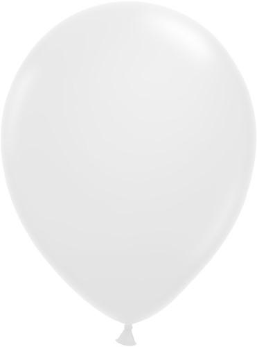 Ballonnen Klein 5inch 100 stuks Wit