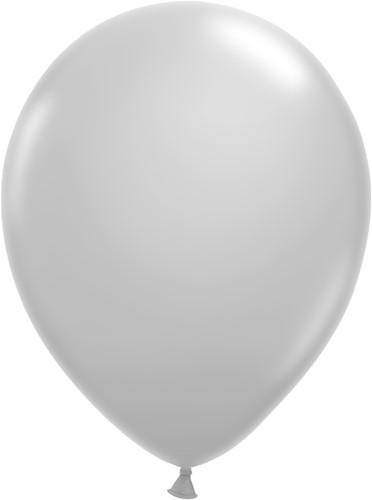 Ballonnen Klein 5inch 100 stuks Zilver