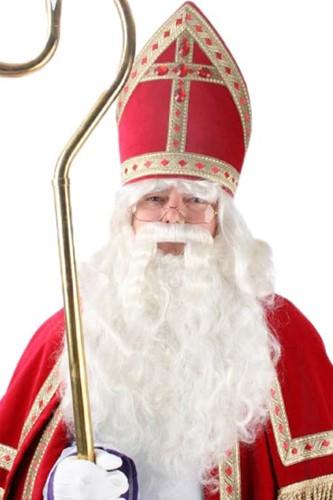 Sinterklaas Baardstel Speciaal Haarwerk