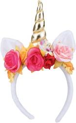 Diadeem Rosy Unicorn (Eenhoorn)
