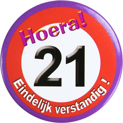 Button Hoera 21!