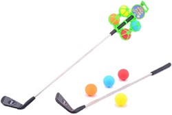Golfclub 60cm + 4 Golballen
