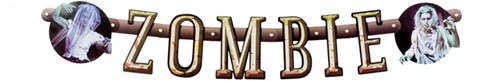 Letterslinger Zombie 100cm