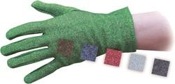 03109 Handschoenen Glitter Luxe Zwart