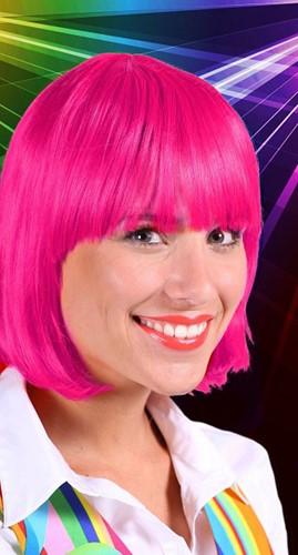 Pruik Lola Luxe Pink