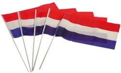 Plastic Zwaaivlag Nederland op Stokje (20x30cm)