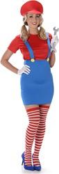Damesjurkje Mario (4 delig)