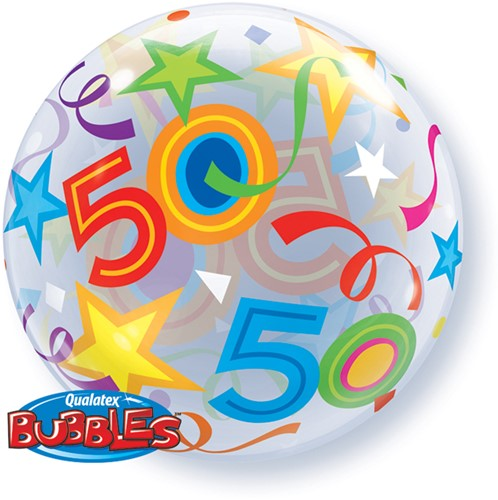 Bubble Ballon 50 Stars