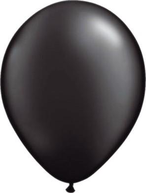 Ballonnen Zwart 25 stuks 30cm